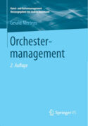 Cover Buch Orchestermanagement 2. Auflage
